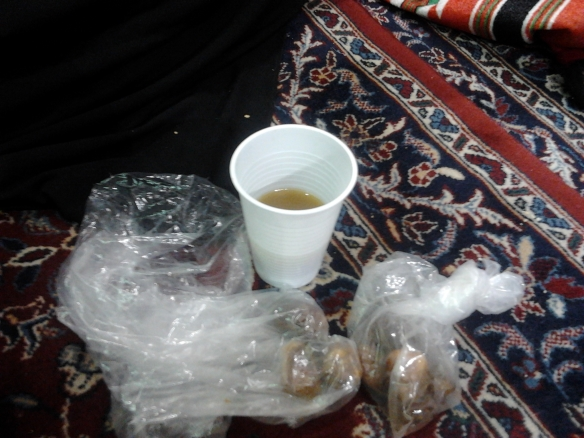 Ramadaan Day1 Arabic coffee & dates