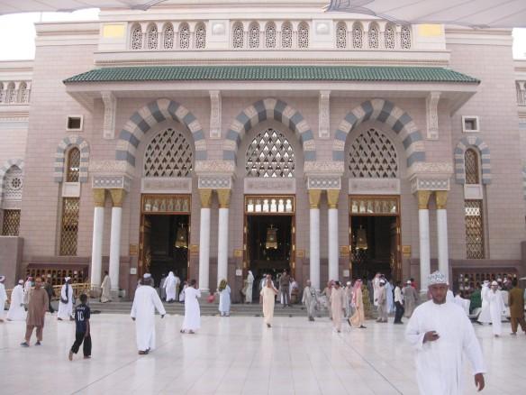Quba Gate - Door no:5 - West side of the Prophets Mosque